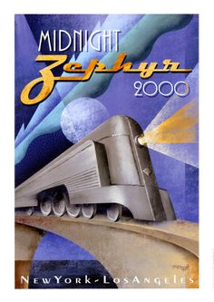 Midnight Zephyr 2000 Kunsttryk