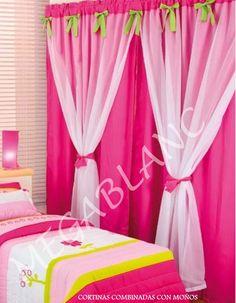 Modernos dise os de cortinas para ni os - Hacer cortinas infantiles ...