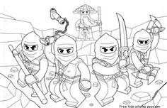 Free Printable Ninjago Coloring Pages For Kids   Lego ninjago ...