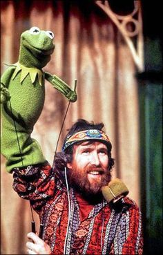 jim henson. 53. Noooooo the illusion is shattered!!!
