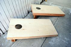 How-To Build a Bean Bag Toss Board