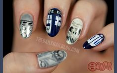 Dr. Who nails LOVE IT