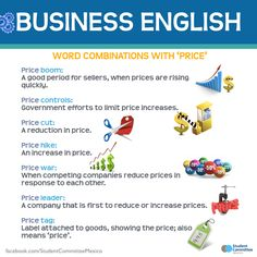 Business English  Word combinations with 'price'.