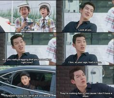 Image shared by a. Find images and videos about funny, lol and kdrama on We Heart It - the app to get lost in what you love. Heirs Korean Drama, Korean Drama Funny, Korean Drama List, Korean Drama Quotes, Korean Dramas, Best Movie Quotes Funny, Famous Movie Quotes, Funny Movies, Park Hyun Sik