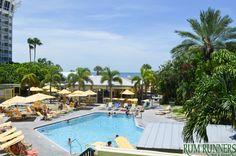 Rum Runners Bar & Grille at Sirata Beach Resort   #beach #bar #florida #resort #family #vacation #pool #stpete #stpetebeach #palmtrees #blue #green #yellow #fun #sun #party