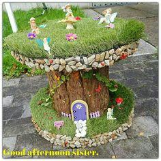 Garden Crafts, Diy Garden Decor, Garden Art, Garden Design, Mini Fairy Garden, Fairy Garden Houses, Gnome Garden, Fairy Doors, Miniature Fairy Gardens