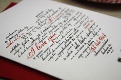 Tutorial cómo hacer formas llenas de palabras