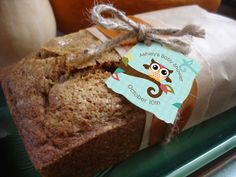 Pumpkin bread would be a great favor and I have an excellent recipe!