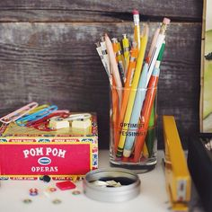 Around here there is no such thing as too many colorful office supplies! #thingswelove #backtoschool