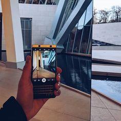 #inst10 #ReGram @blackberrylifestyle: #KEYone #SilverEdition By @BlackBerryMobile . At #FondationLouisVuitton #Paris #France . #silver #keyboard #Addicts #lifestyle #blackberrylifestyle #BlackBerryKEYone #blackberrymobile #blackberry #keyone #LifeStyle #TheNewBlackberry . @blackberrylifestyle
