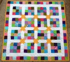 Starry Skies Baby Quilt