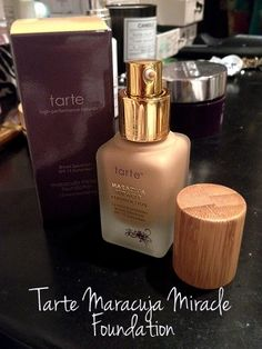 MARACUJA MIRACLE 12 HOUR FOUNDATION BY TARTE COSMETICS – REVIEW