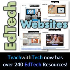 * This resource contains a collection of educational technology websites divided into categories * I have successfully utilized all of these amazing websites with my classes to enhance learning * Links to lessons for how to use each of the websites are located at the bottom of each of the slides TOPICS 1.