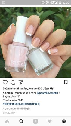 Health Many women prefer to visit the hairdresser even if they don't have time to use shine with their nails … Autumn Nails, Winter Nails, Summer Nails, Coffin Nails, Gel Nails, Nail Nail, French Nails, Nail Swag, Nail Polish Designs