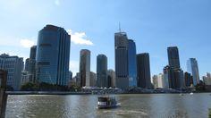 Brisbane vue du ferry