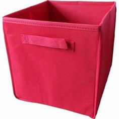 Non-Woven Storage Box - Red from Homebase.co.uk