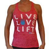 LIVE LOVE LIFT™ Tank - WANT