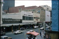 Murray Street, Perth west from Forrest Place, September 1981 Wa Gov, Perth Western Australia, Present Day, Capital City, Back In The Day, Melbourne, Beautiful Places, September, Places To Visit
