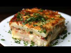 Layered Ham & Cheese Potato Bake - YouTube