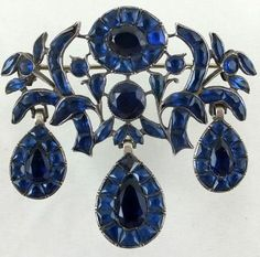 Portugese silver brooch ca 1760-70