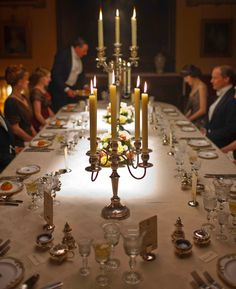 Now you can learn how to set a table properly at Downton Abbey, with a lesson from the Highclere Castle butler! But it will cost you...