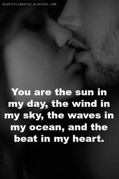 Heartfelt Love And Life Quotes: Romantic Love Quotes and Love Messages for him or for her. Love Message For Him, Love Quotes For Her, Romantic Love Quotes, Great Quotes, Me Quotes, Inspirational Quotes, Romantic Messages, Quotes Images, Couple Quotes