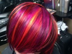 Guy Tang - West Hollywood, CA, United States. Rich Orange. Pinks and reds by Guy Tang