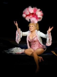 """Bette Midler Photos - Entertainer Bette Midler performs during the final performance of her show, """"The Showgirl Must Go On"""" at The Colosseum at Caesars Palace January 2010 in Las Vegas, Nevada. Bette Midler, Las Vegas Shows, Burlesque Show, Showgirls, Female Singers, Role Models, Movie Stars, My Idol, At Least"""