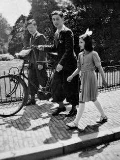 Anne Frank's Amsterdam timeline is wonderfully interactive! Anne Frank Amsterdam, Margot Frank, World War Two, Historical Photos, Wwii, The Past, Gandhi, Portrait, Hanukkah