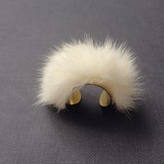 Fur Ring- Shop it now at NYLONshop: http://shop.nylonmag.com/collections/whats-new/products/fur-ring