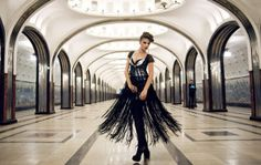 City chic #Moscow #subway