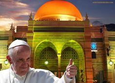 Pope Francis can best be described as a man on a mission. That mission seems to be the unification of the Vatican's Roman Catholic system with Islam. This demonic hybrid is what is more commonly known as Chrislam.       http://www.jewsnews.co.il/2014/06/25/pope-francis-orders-vatican-to-create-first-ever-art-exhibition-to-promote-chrislam/
