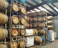 Wine barrels in Wilcox #windmillwinetastingroom #windmillwinery #AZWedding #WeddingVenue #Arizona #WindmillWinery