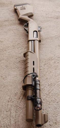 Tactical pump Shotgun