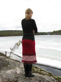 Ravelry: Project Gallery for Winter Skirt pattern by Tuulia Salmela