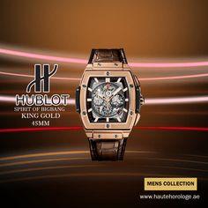 fb809c6ad49 Haute Horologe offers Hublot Spirit Of Big Bang King Gold 45mm 601.ox.0183