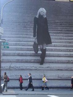 Lyssa humana: Sasha Pivovarova, 42nd Street