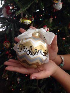Christmas wedding! #how to ask your bridesmaids