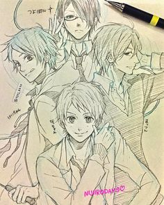 WIM Enjoyed and Liked on instagram from ojoj_kkto: かわいい かわいいーーーーー( )ノ この4人可愛いすぎか() アニメと漫画1巻しか見てないけど可愛いぃぃぃぃ なんでアニメ15分なんやーー _ そしてファンの方すいません 模写はすぐにあきらめました 少女漫画自由に描いたら特に誰やねん感がすごいw でも描いてみたかった _ _ #別冊マーガレット #Idrew#manga#漫画#fanart #anime#アニメ#お絵描き#mangaboy#art#comic#otaku#kakkoii #Illustration#animedrawing#instaartist #animeguy#mangaguy #japananime#animedrawing #虹色デイズ#nijiirodays#rainbowdays #直江剛#片倉恵一#松永智也#羽柴夏樹 #tsuyoshinaoe #hashibanatsuki #katakurakeiichi #matsunagatomoya by ojoj_kkto