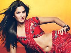 Katrina Kaif in saari, looking sexy..