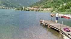 Lido della Casa del Pescatore, Lago d'Endine, Monasterolo (BG)
