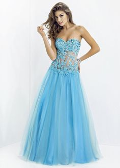 NEW! Brilliant Tulle A-line Sweetheart Neckline Prom Dress With Beadings