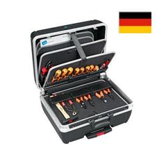 B & W Rolling Tool Case Modul with Wheels. German Engineered.