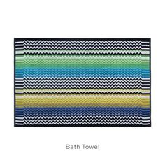 STAN #170 - MISSONI HOME at Spence & Lyda #towels #bath #bathtowels #spenceandlyda #missonihome #australia #sydney #cotton