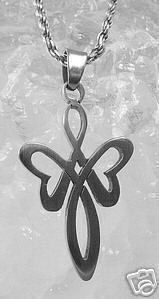 moon goddess charm celtic infinity knot sterling silver Real Sterling silver 925 pendant Charm jewelry. $17.43, via Etsy.