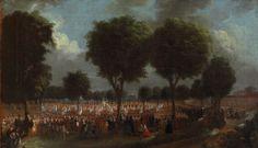 Joseph ROQUES, (Toulouse, 1754 - Toulouse, 1847), La Fête de la Fédération à Toulouse, 1790, Inv. RO 243. Non exposée. © Toulouse, musée des Augustins – Photo Daniel Martin