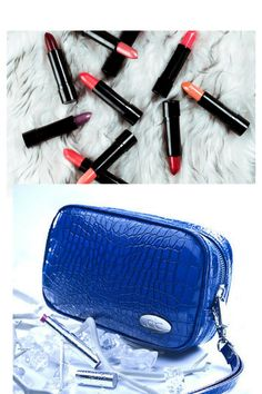 Keep your lipsticks from melting in the warm weather with a Cool-it Caddy freezable bag. Small enough to fit into your golf bag but large enough for makeup, sunscreen or a protein bar. Keeps things icy cool for hours. Cool-itCaddy.com