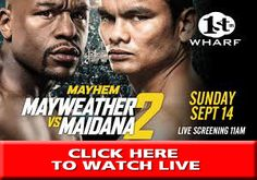 Post with 0 votes and 4 views. Floyd Mayweather, Victorious, Take That, Watch, Live, Clock