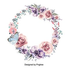 Beautiful flower wreath with leaves design, Flower, Wreath, Red PNG and PSD Green Leaf Background, Flower Background Wallpaper, Flower Backgrounds, Hd Flowers, Leaf Flowers, Beautiful Flowers, Wedding Flowers, Frame Floral, Flower Frame