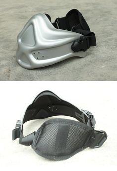 EbairSoft Airsoft parts & Tactical Gear - G Weekend Worrior Neoprene Hard Foam Mask ( Silver ) JAM487